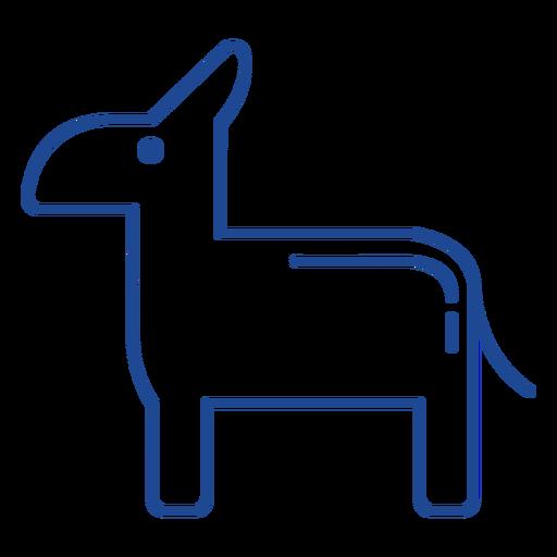 Símbolo del partido democrático estadounidense