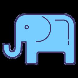 Elemento do símbolo do partido republicano nos