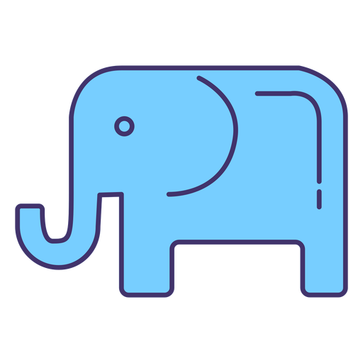 Elemento de símbolo del partido republicano estadounidense
