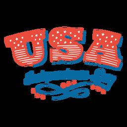 Letras del día de la independencia de estados unidos