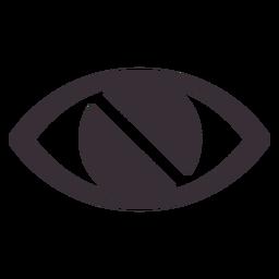 Icono de conciencia de discapacidad visual