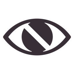 Visual impairment awareness icon