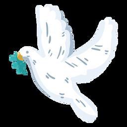 World peace day dove