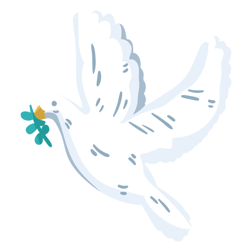World peace day dove Transparent PNG