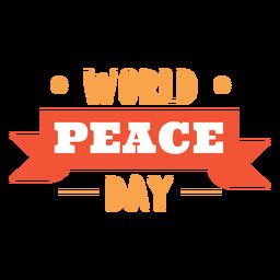 Letras do dia mundial da paz