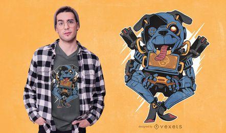 Design de camiseta Pug Pathfinder Apex