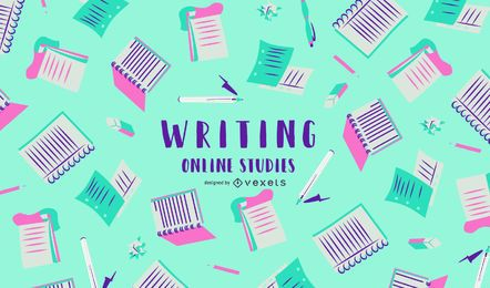 Writing Online Studies Cover Design
