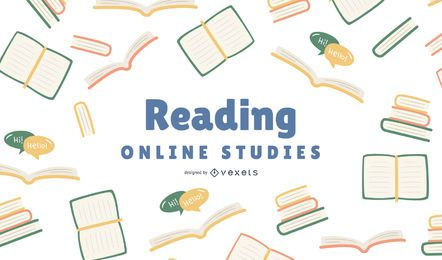 Diseño de portada de Reading Online Studies
