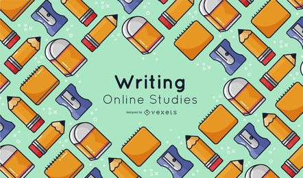 Writing Elements Online Studies Cover Design