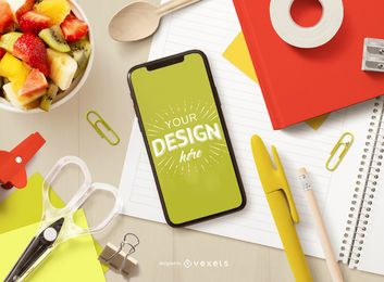 Education Smartphone Screen Mockup