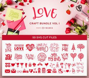 Pacote SVG do Love Crafts Vol I