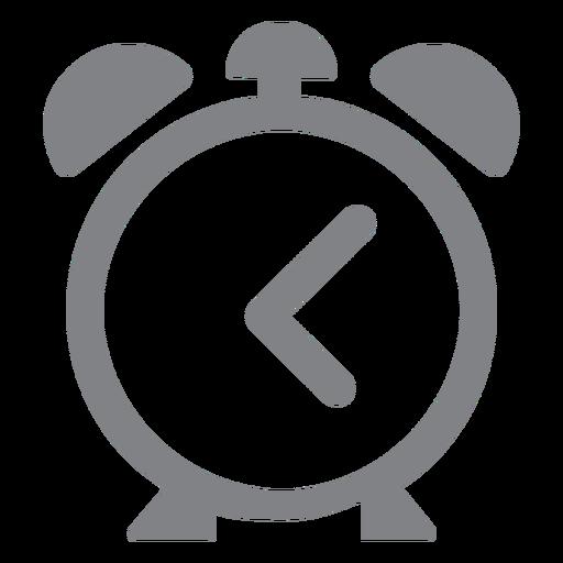 Alarm clock flat icon school