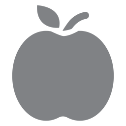 Apple flat icon
