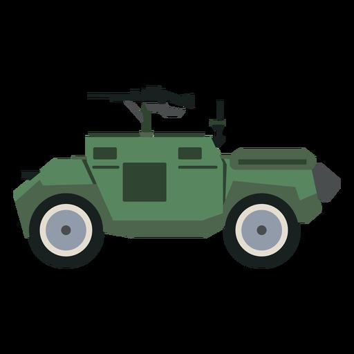 Vista lateral del vehículo blindado de transporte de personal Transparent PNG