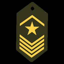 Icono de rango del ejército