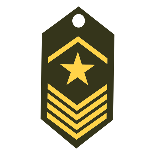 Army rank icon Transparent PNG
