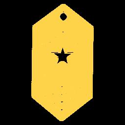 Silueta de rango del ejército