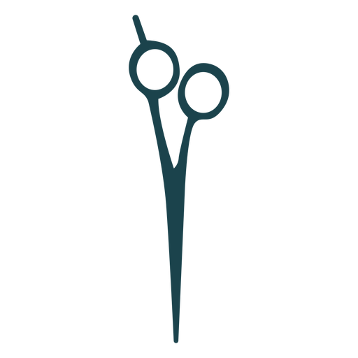 Barber shears silhouette Transparent PNG