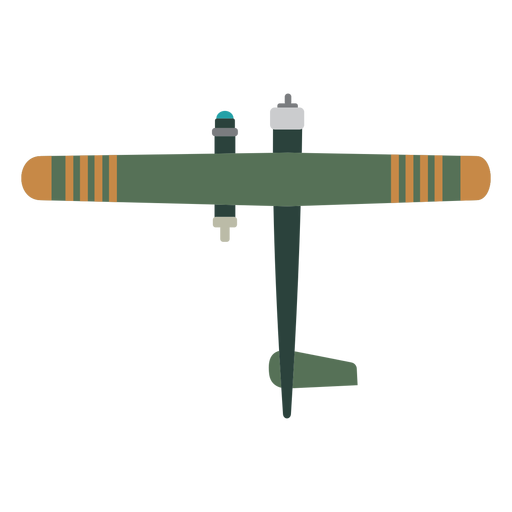 Basic military aircraft icon Transparent PNG