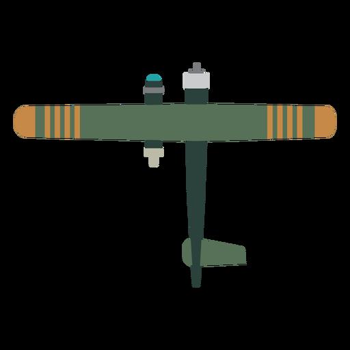 Icono de avión militar básico