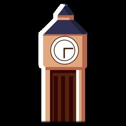 Icono de la torre del reloj big ben
