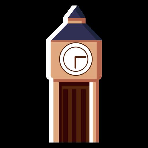 Icono de la torre del reloj big ben Transparent PNG