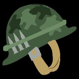 Capacete do exército de camuflagem