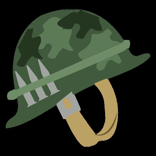 Casco militar de camuflaje Transparent PNG