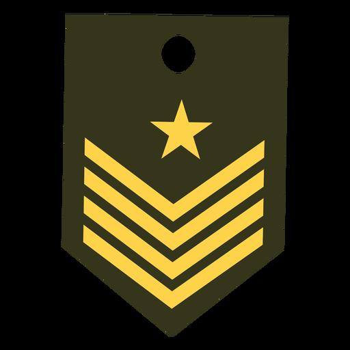 Icono de rango militar de capitán Transparent PNG