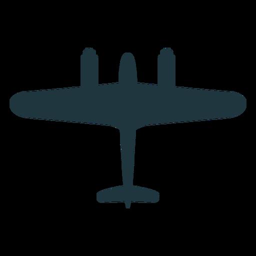 Avión de combate silueta militar Transparent PNG