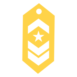 Commander military rank silhouette