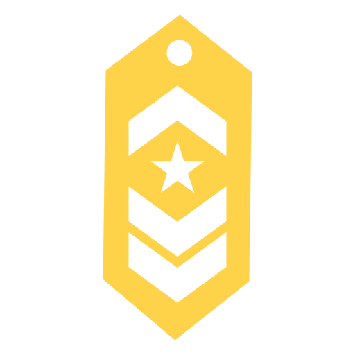 Commander military rank silhouette Transparent PNG