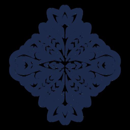 Vinilo decorativo estampado folklórico floral