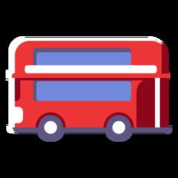 Icono de autobús de dos pisos