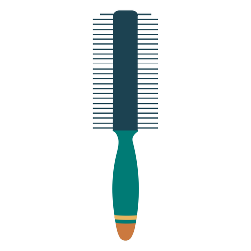 Double sided comb icon