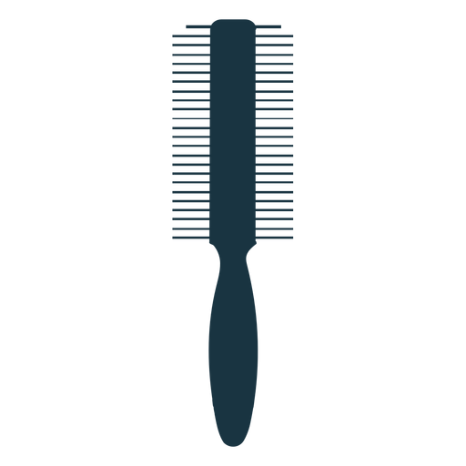 Double sided comb silhouette