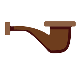 English pipe icon