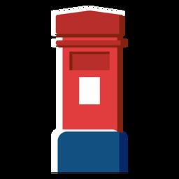 Icono de cuadro de correo en inglés