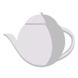 English tea pot icon
