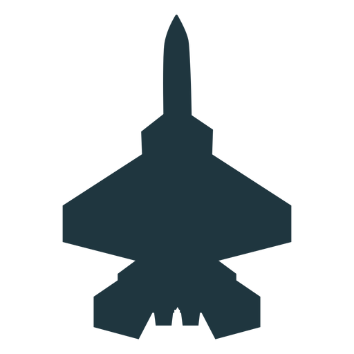 F 15 aircraft top view silhouette Transparent PNG