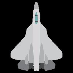 Ícone de vista superior de aeronaves F 22