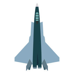 Fighter jet aircraft icon