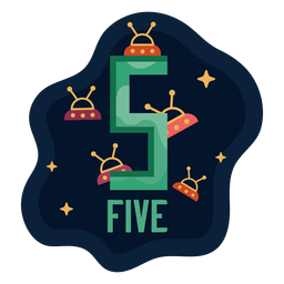 Cinco número ovni