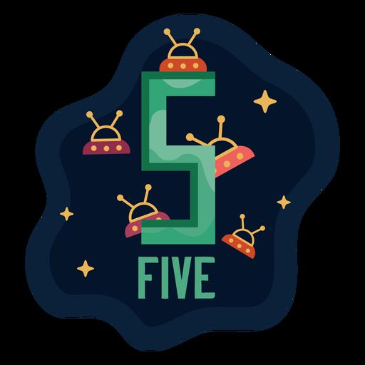 Número cinco ovni