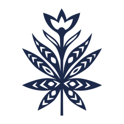 Blumen Folklore Kunst Ornament Silhouette