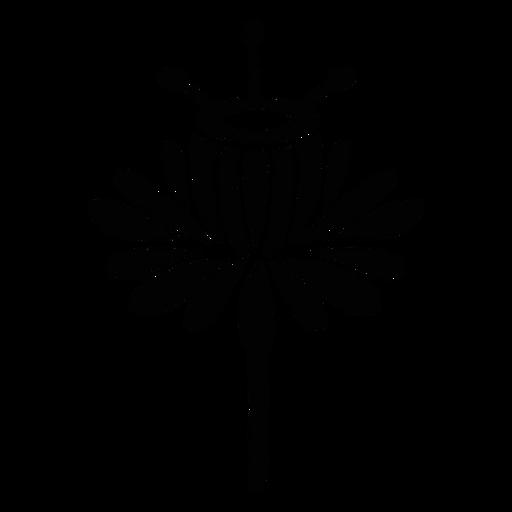 Flor escandinava floral da arte popular Transparent PNG