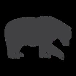 Oso del bosque silueta oso