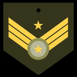 Icono de rango militar mayor general