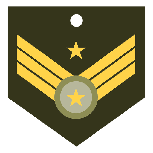 General major military rank icon Transparent PNG