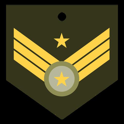 Icono de rango militar mayor general Transparent PNG